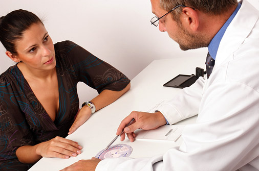 salud mujer medico