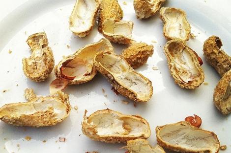 alergia cacahuetes