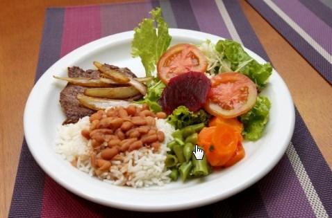 Resultado de imagen para almuerzo saludable